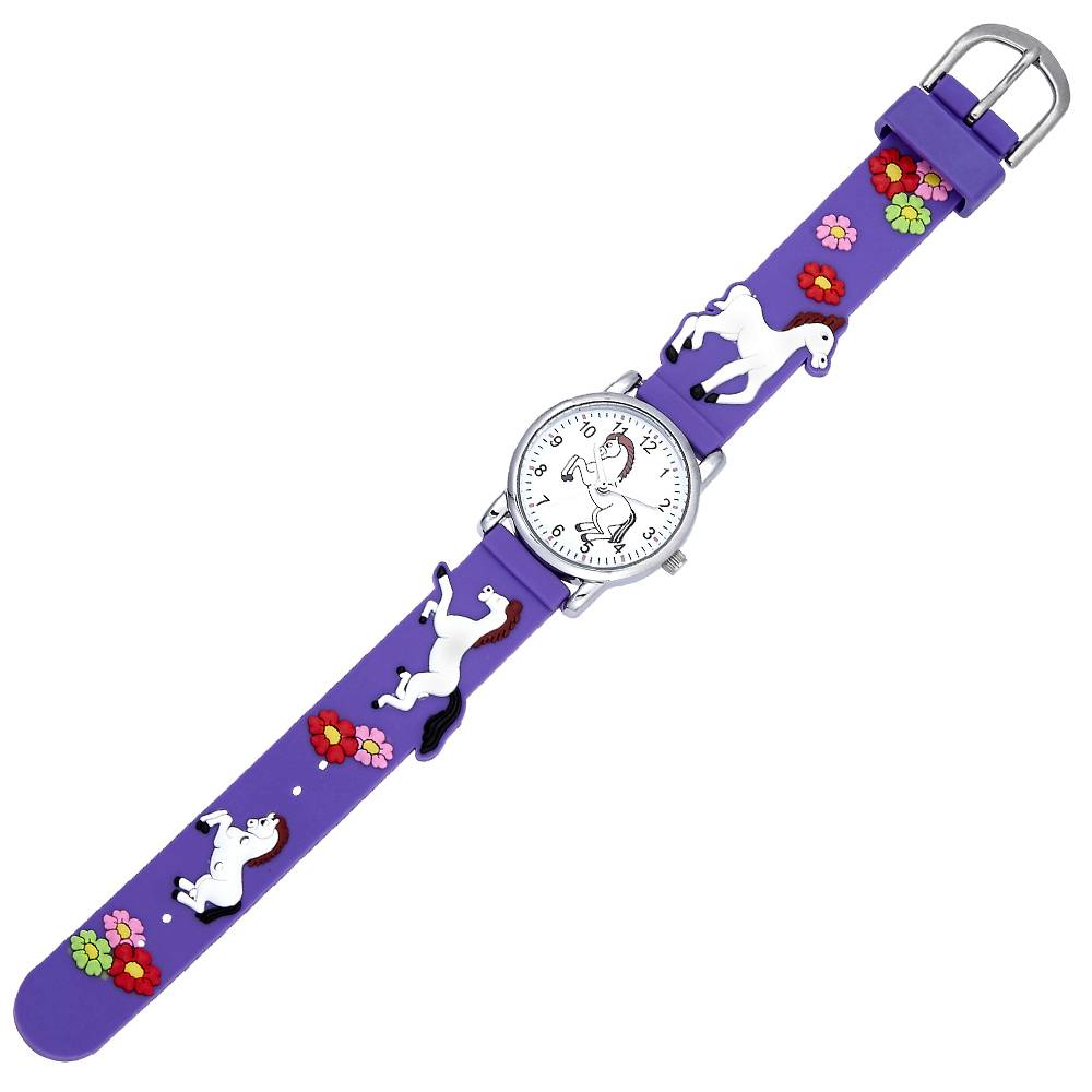 Kids' White Horses Watch
