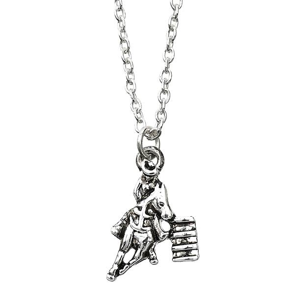 Ladies' Barrel Racer Necklace
