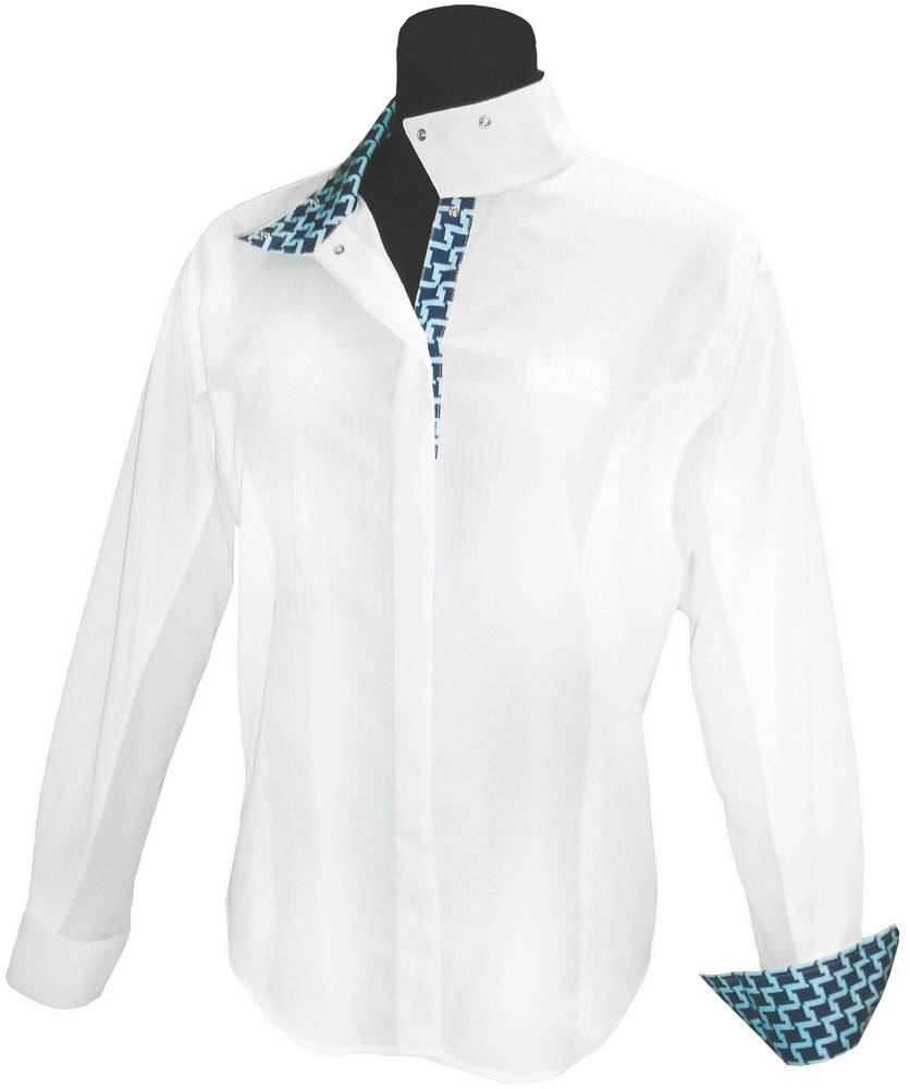 Equine Couture Ladies Geo Show Shirt