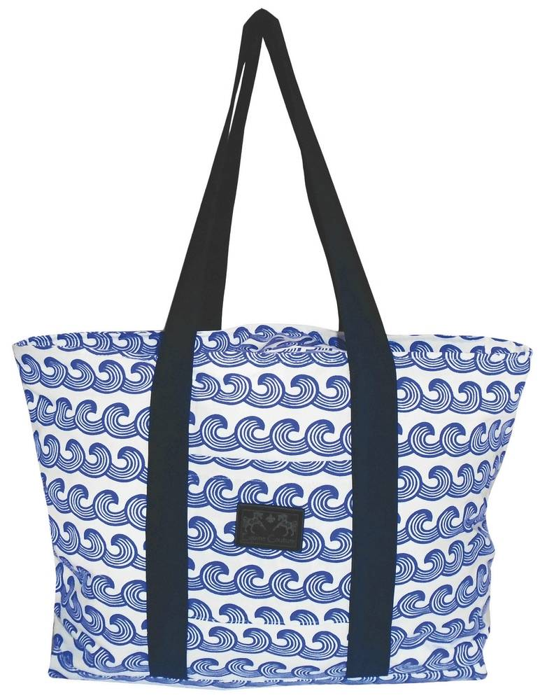 Equine Couture Waves Tote Bag
