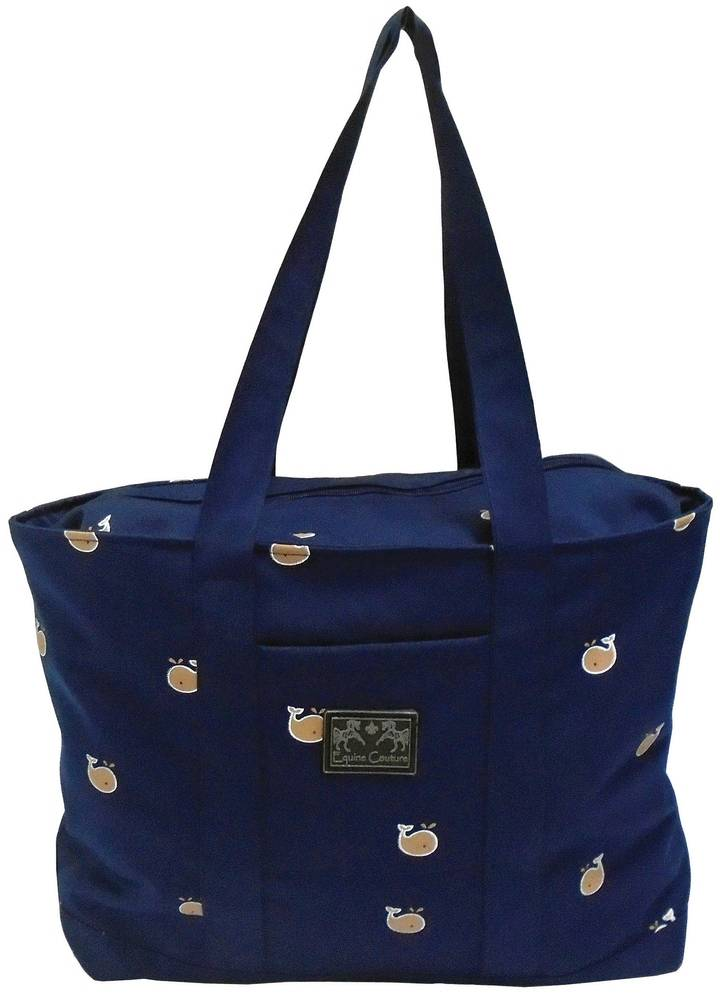 Equine Couture Whales Tote Bag