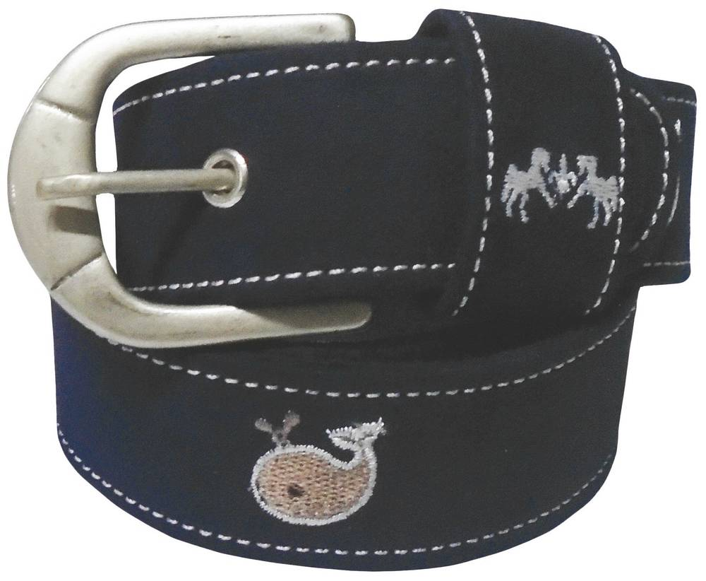 Equine Couture Ladies Whales Suede Belt