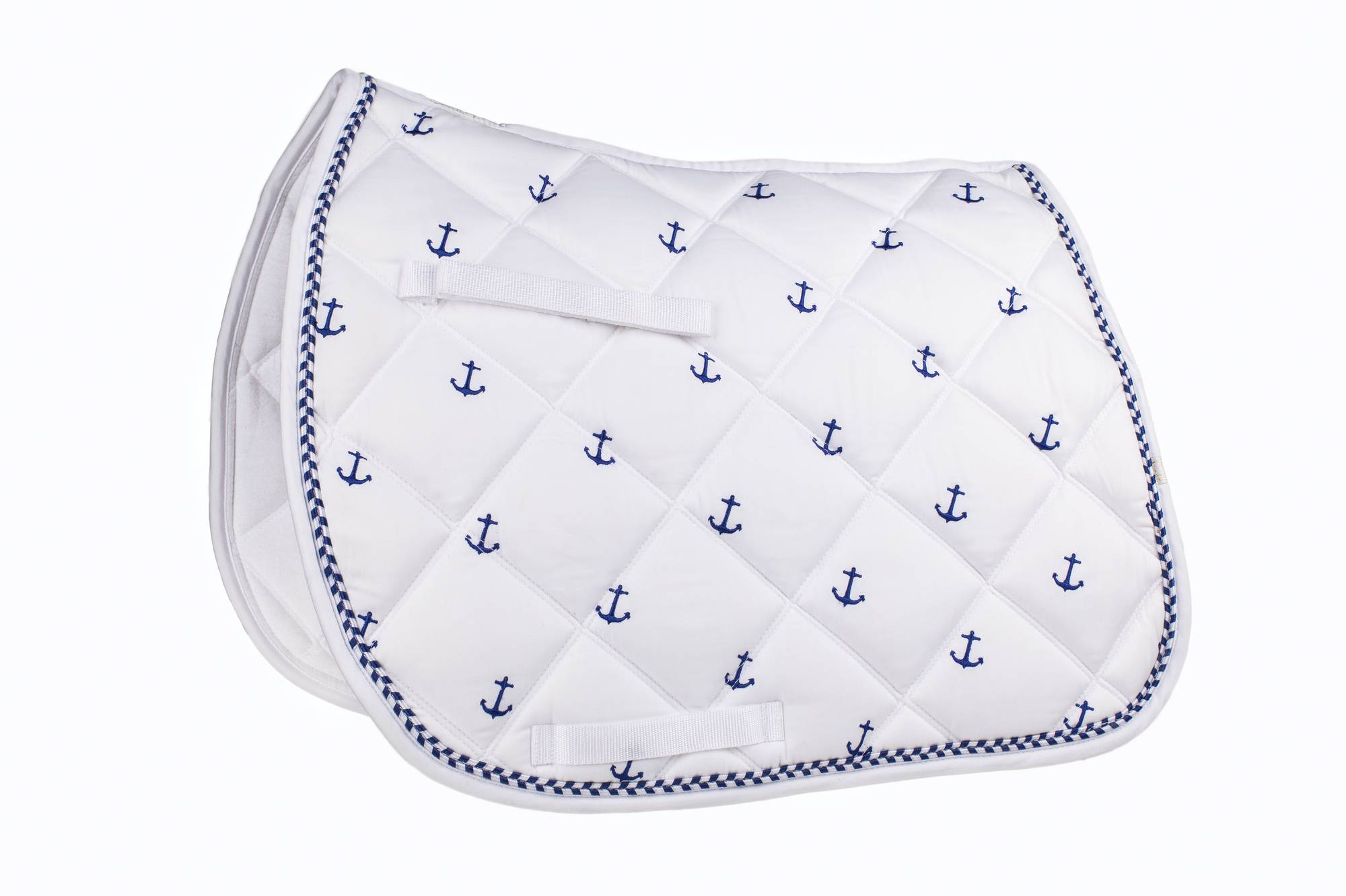 Lettia Embroidered All Purpose Pad - Anchor