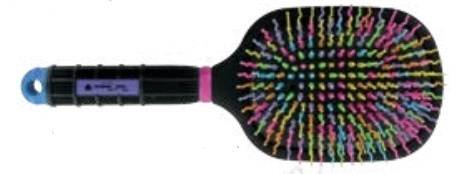 Tail Tamer Rainbow Paddle Brush -No Logo