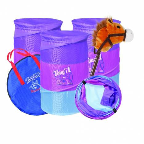 Tough-1 Jr Barrel/Stick Horse Gift Set