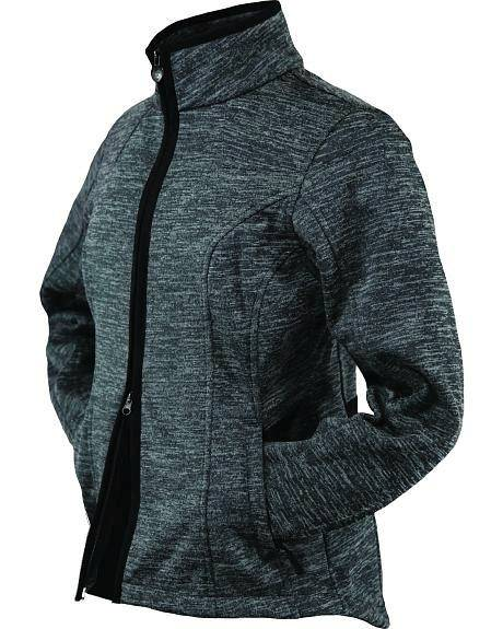 Outback Trading Ladies' Heather Softshell Jacket