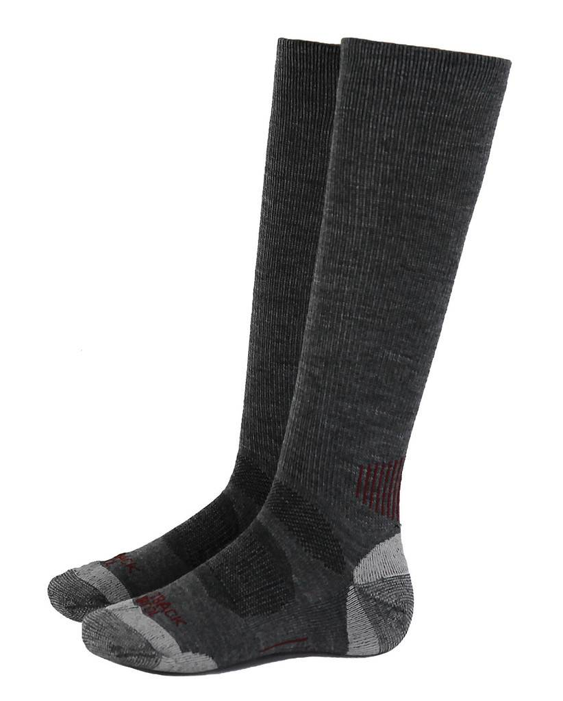 OPEN BOX - Outback Trading River Hills Sock - One - Heathered Grey