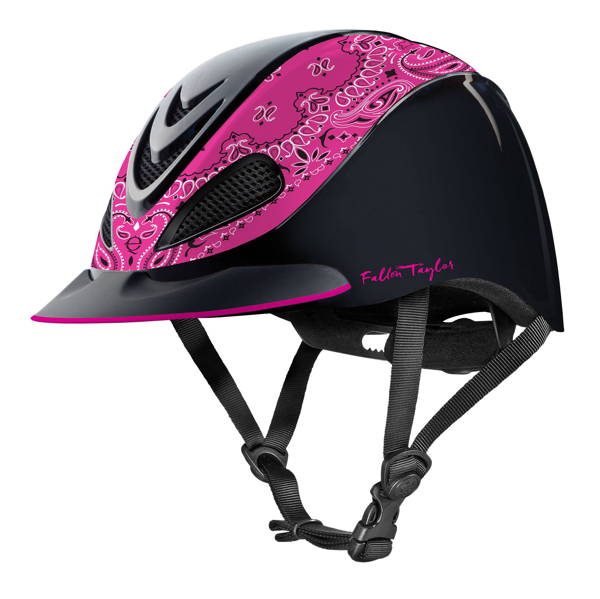 Troxel Fallon Taylor Helmet - Pink Bandana - FREE Cap with Purchase