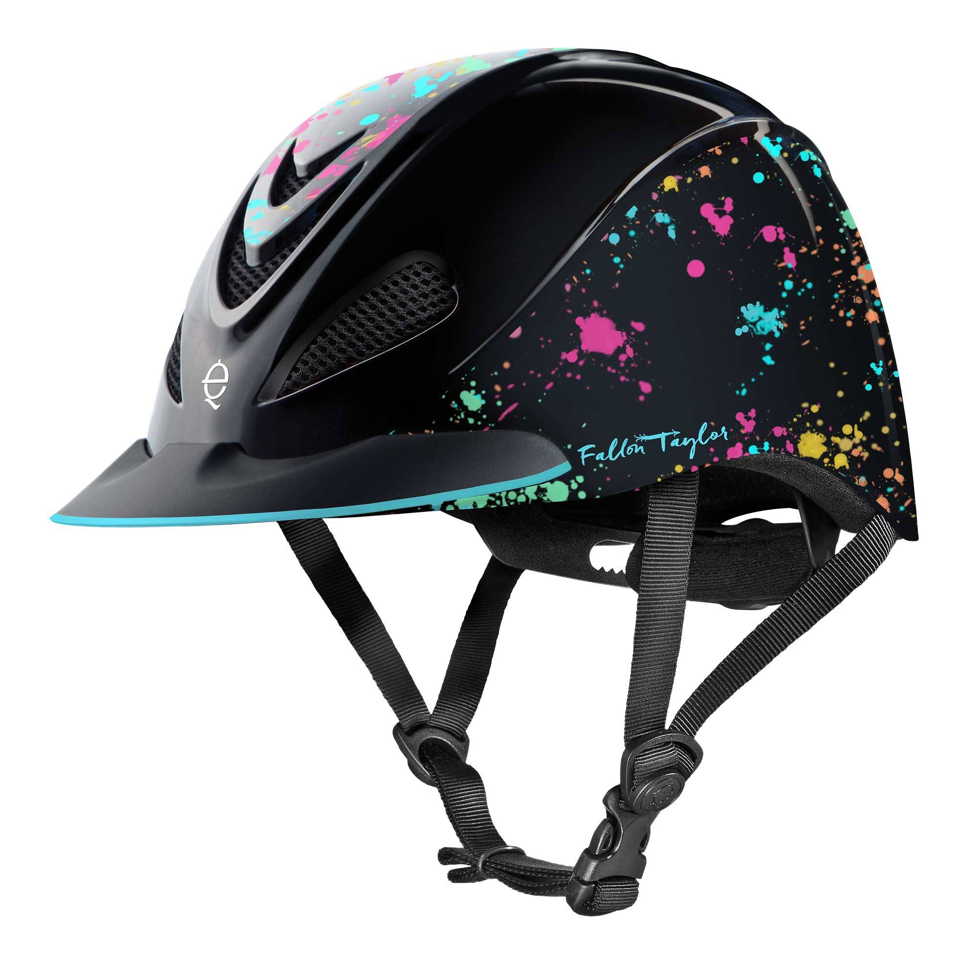 Troxel Fallon Taylor Helmet - Rave Splatter - FREE Cap with Purchase