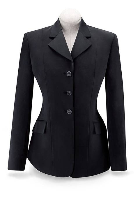 RJ Classics Ladies Plus Size Xtreme Soft Shell Show Coat -Black