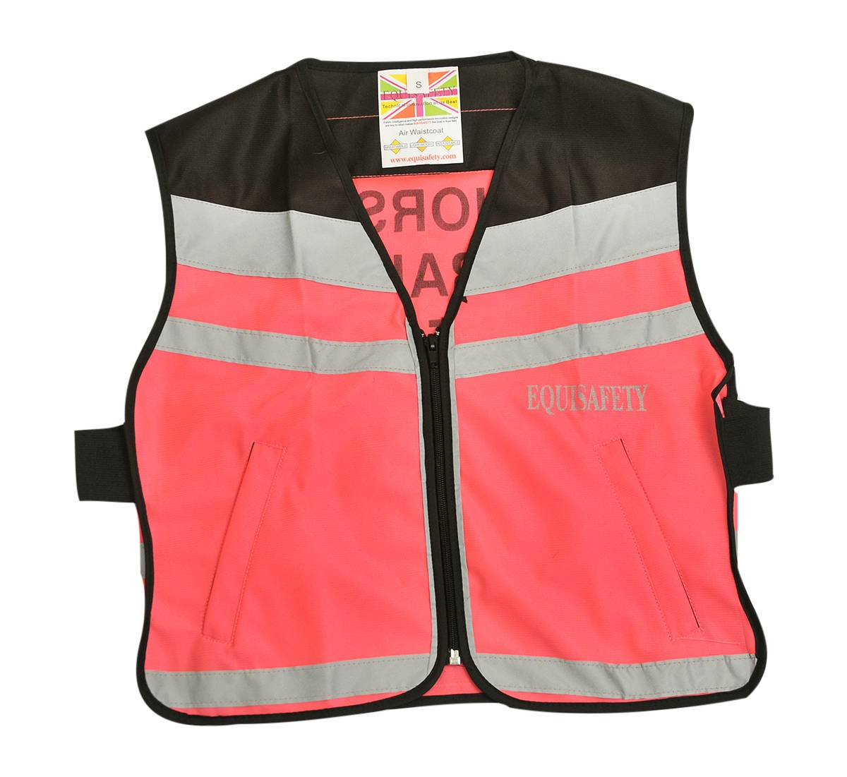 Equisafety Ladies' Reflective Air Waistcoat - Horse In Training