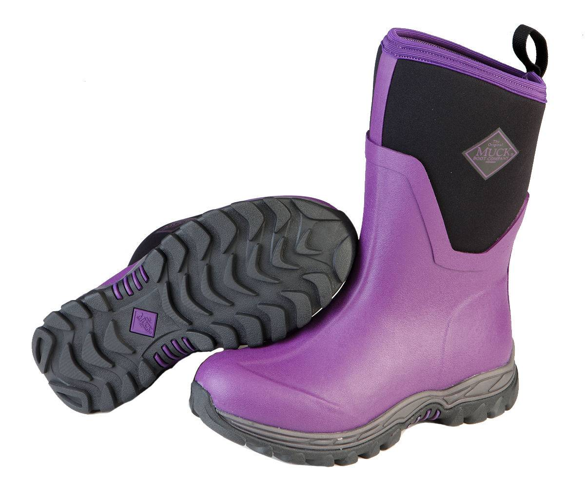 Muck Boots Ladies Arctic Sport II Mid - Purple