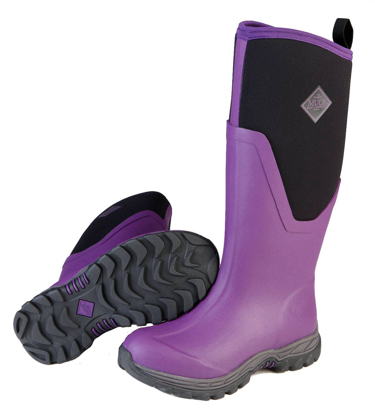 Muck Boots Women's Arctic Sport II Tall - Purple
