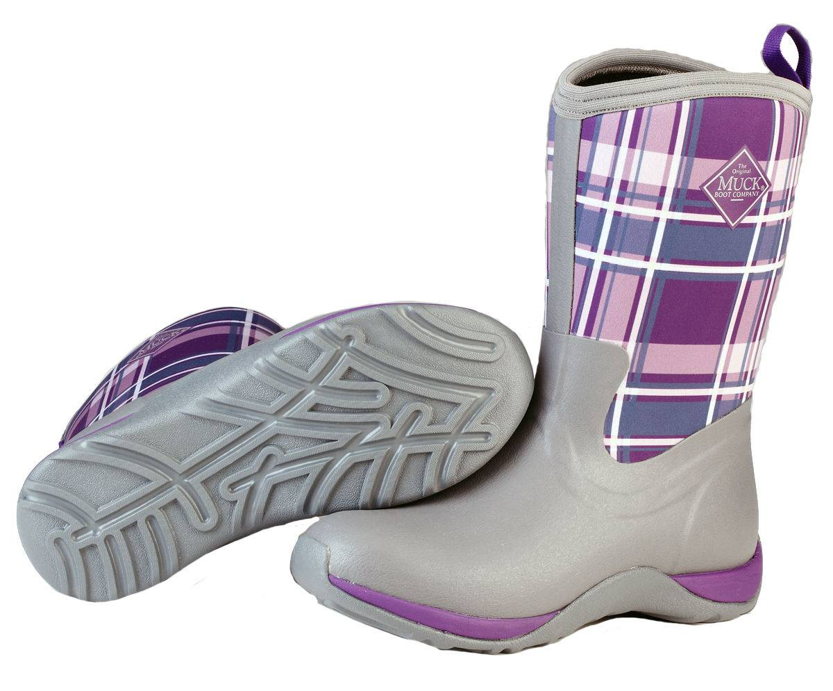 Muck Boots Ladies Arctic Weekend - Gray Acai