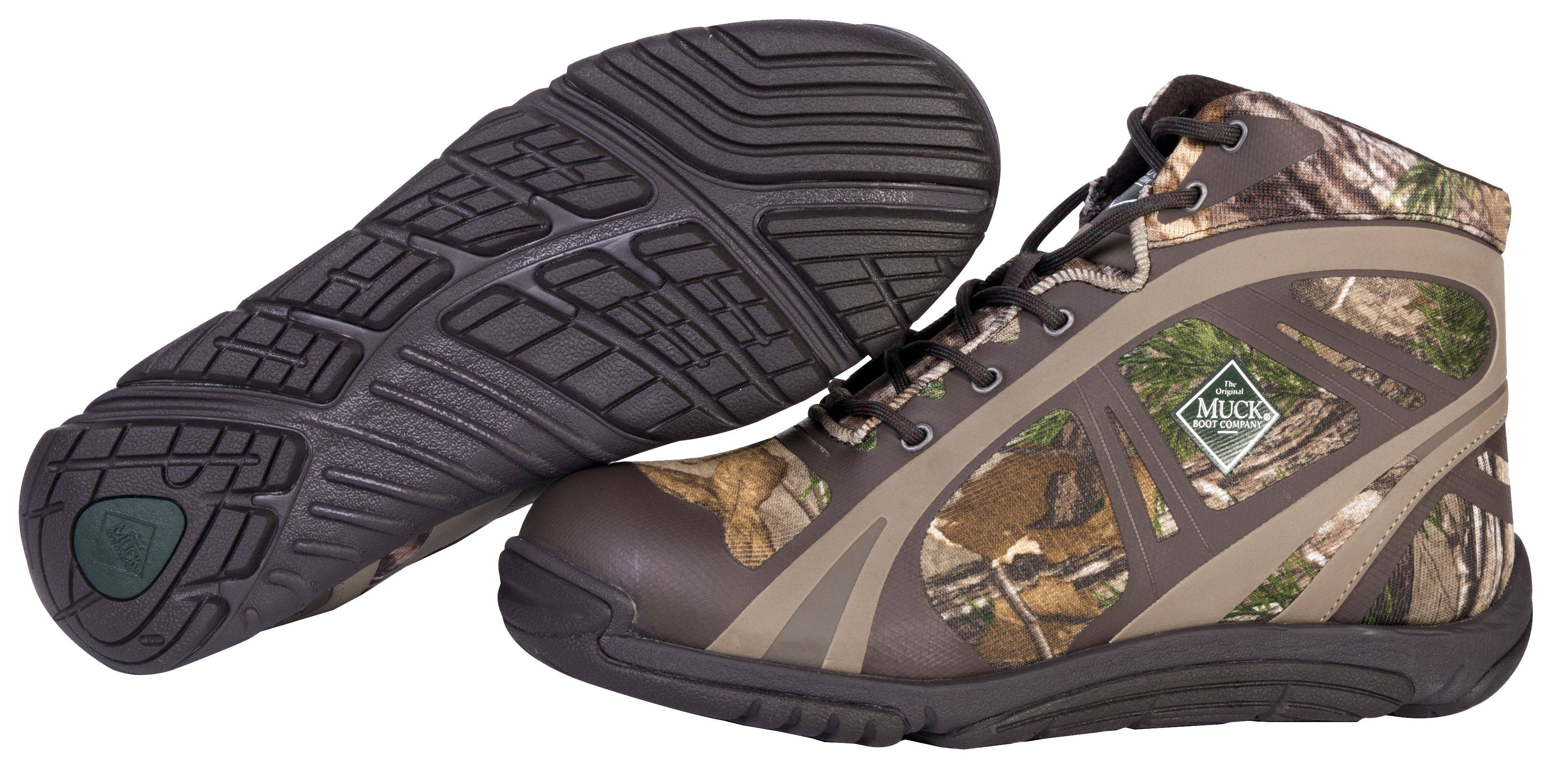Muck Boots Mens Pursuit Shadow Ankle - Realtree