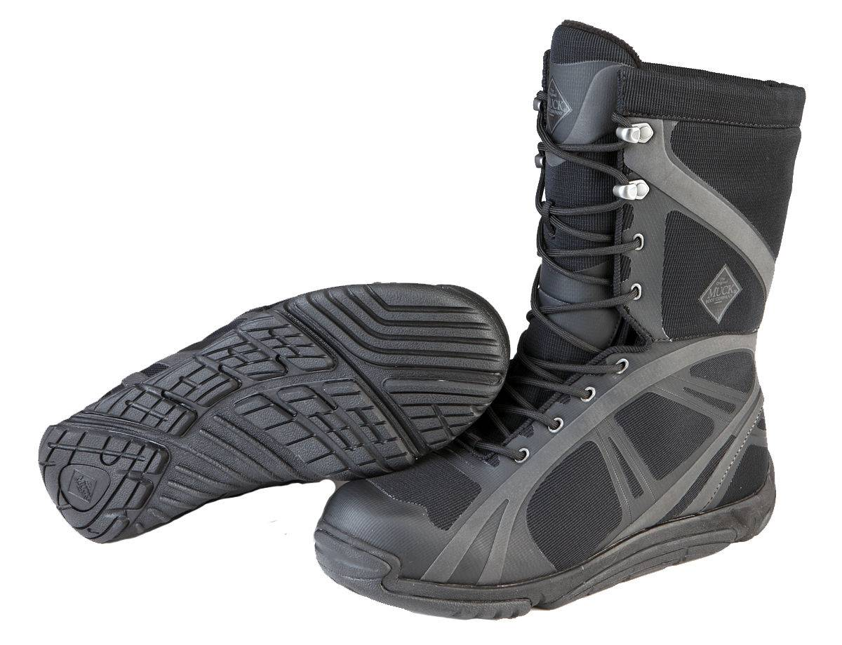 Muck Boots Mens Pursuit Shadow Mid - Black Carbon
