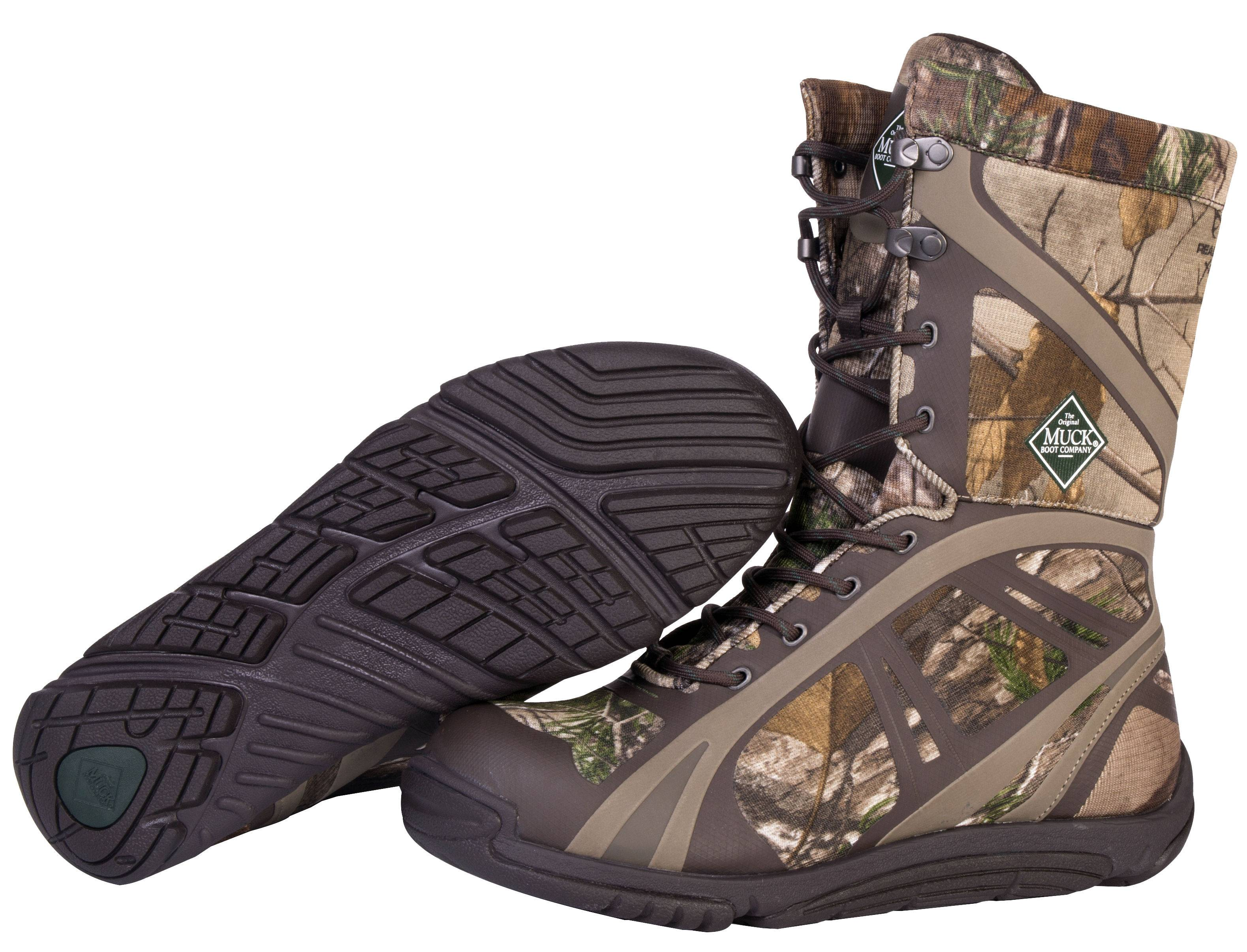 Muck Boots Mens Pursuit Shadow Mid - Realtree