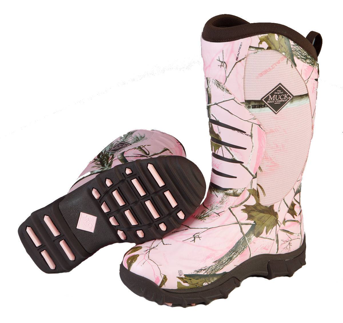 Muck Boots Women's Pursuit Stealth - Pink Realtree