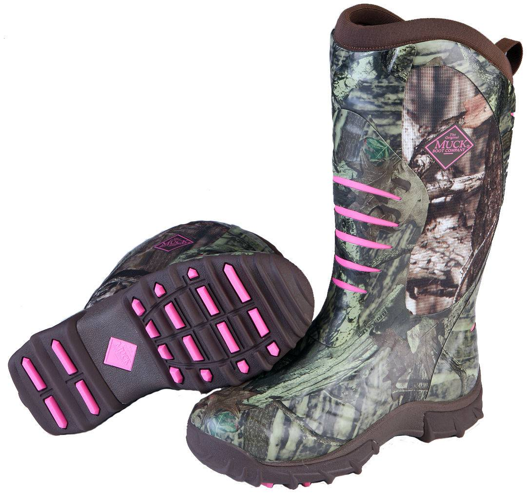 Muck Boots Women's Pursuit Stealth - Realtree Xtra/Pink