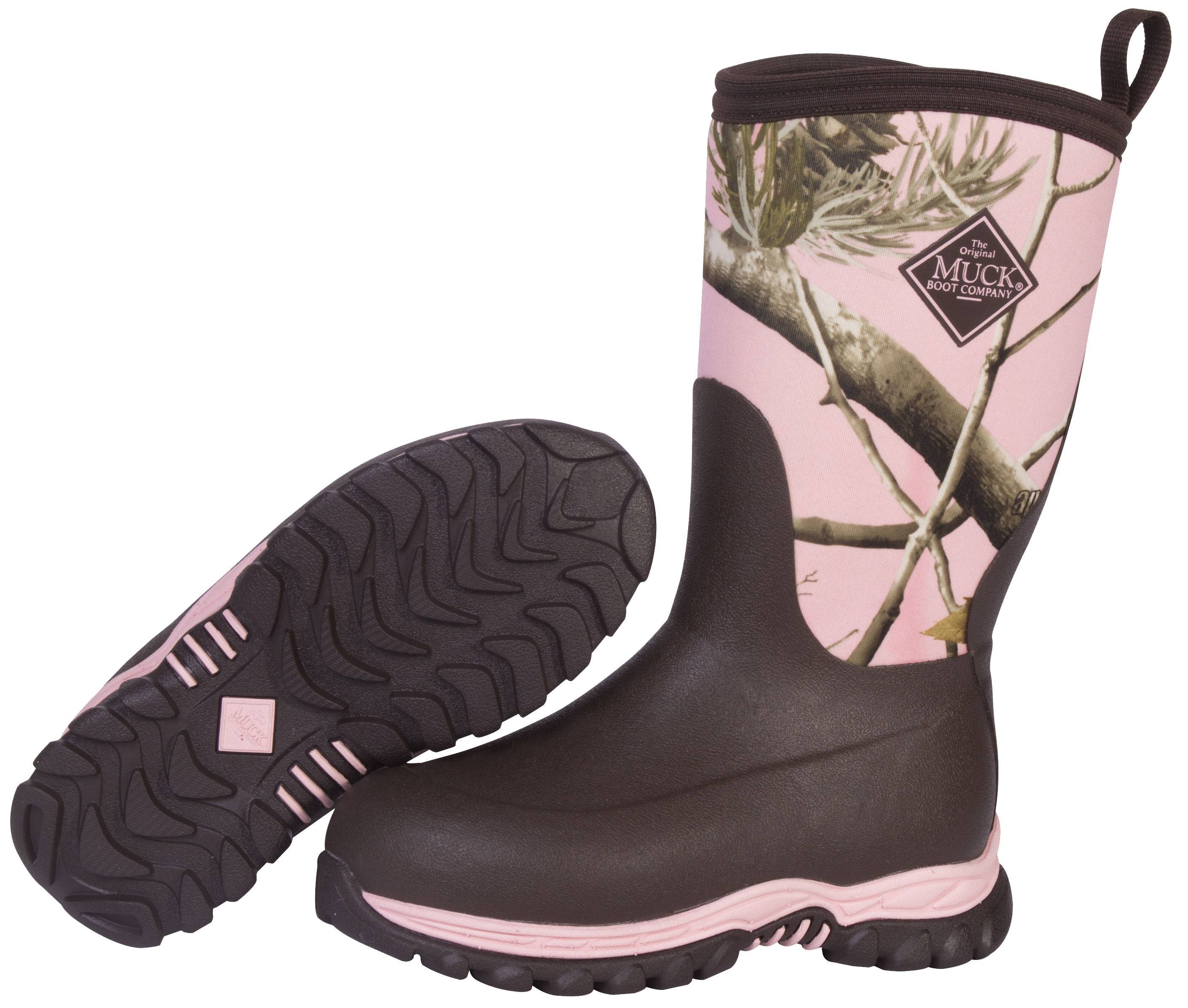 Muck Boots Kids Rugged II - Pink Realtree