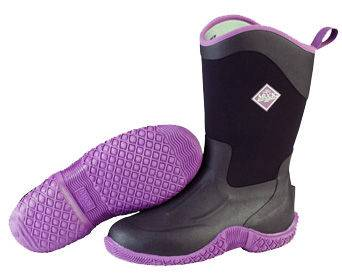 Muck Boots Women's Tack II Mid - Black/Purple