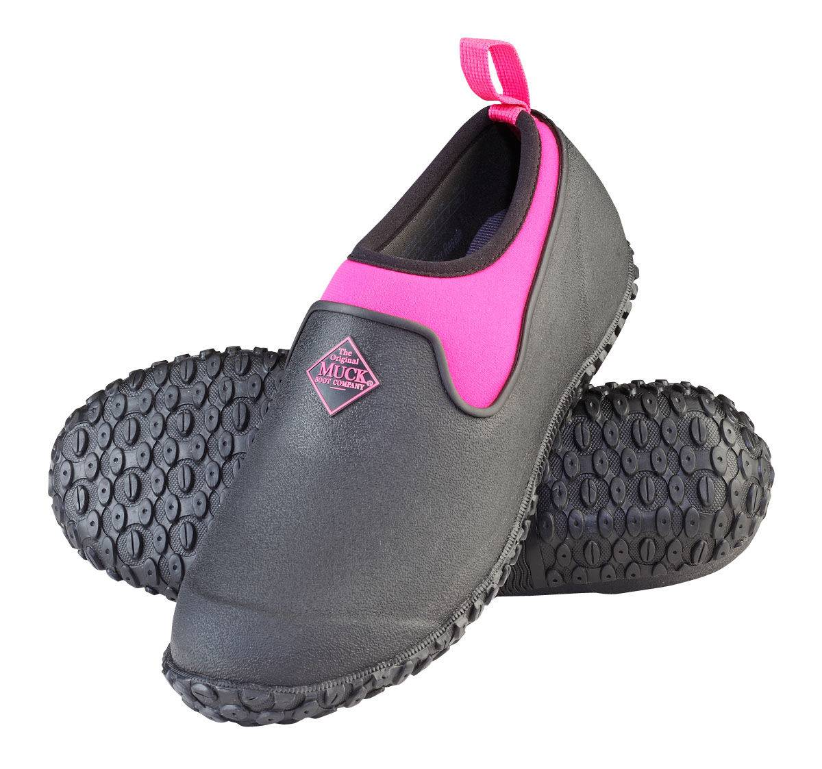 Muck Boots Ladies Muckster II Low - Black/Pink