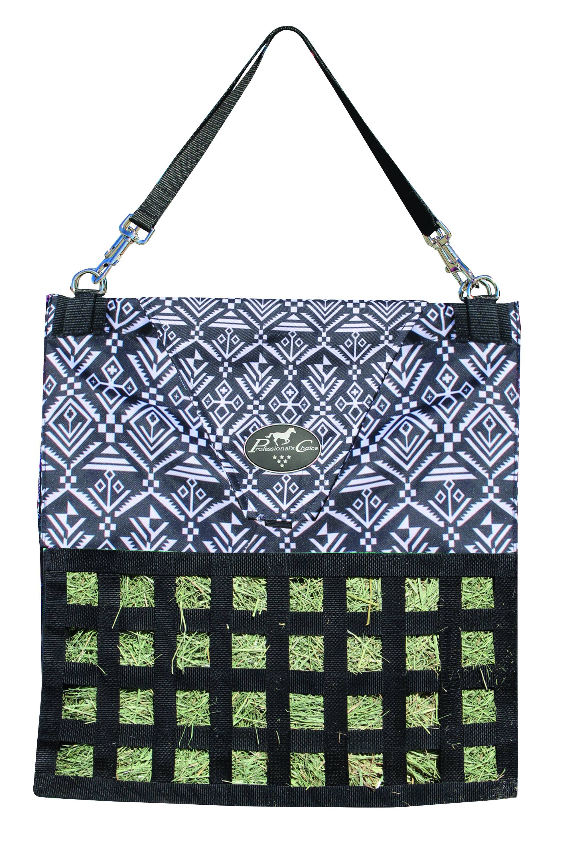 Professionals Choice Slow Feed Hay Bag - Aztec