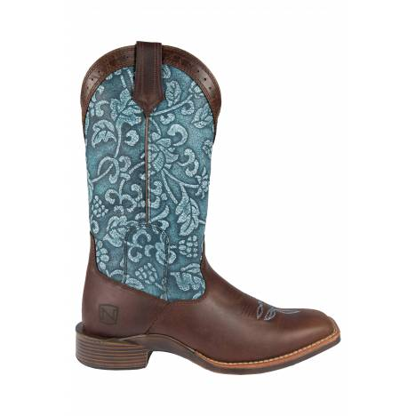 Noble Outfitters Ladies' All Around Floral Square Toe Boot