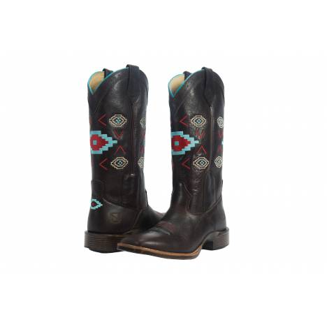 Noble Outfitters Ladies' All Around Aztec Square Toe Boot