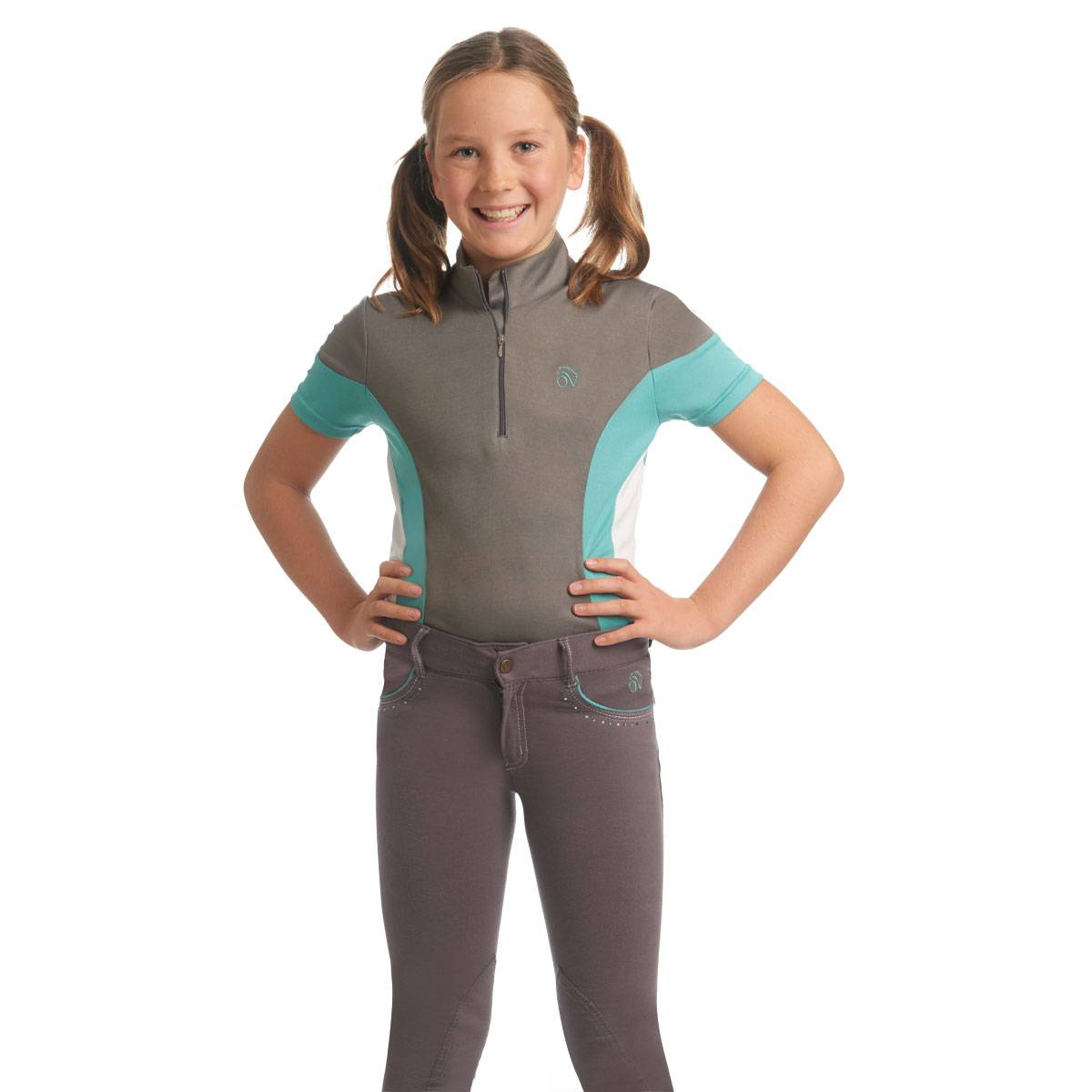 Ovation Kids Mock-Neck Performance Top