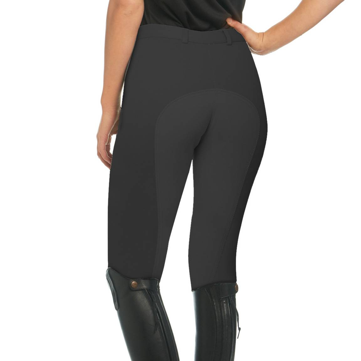 EquiStar Ladies Front Zip Full Seat Breeches
