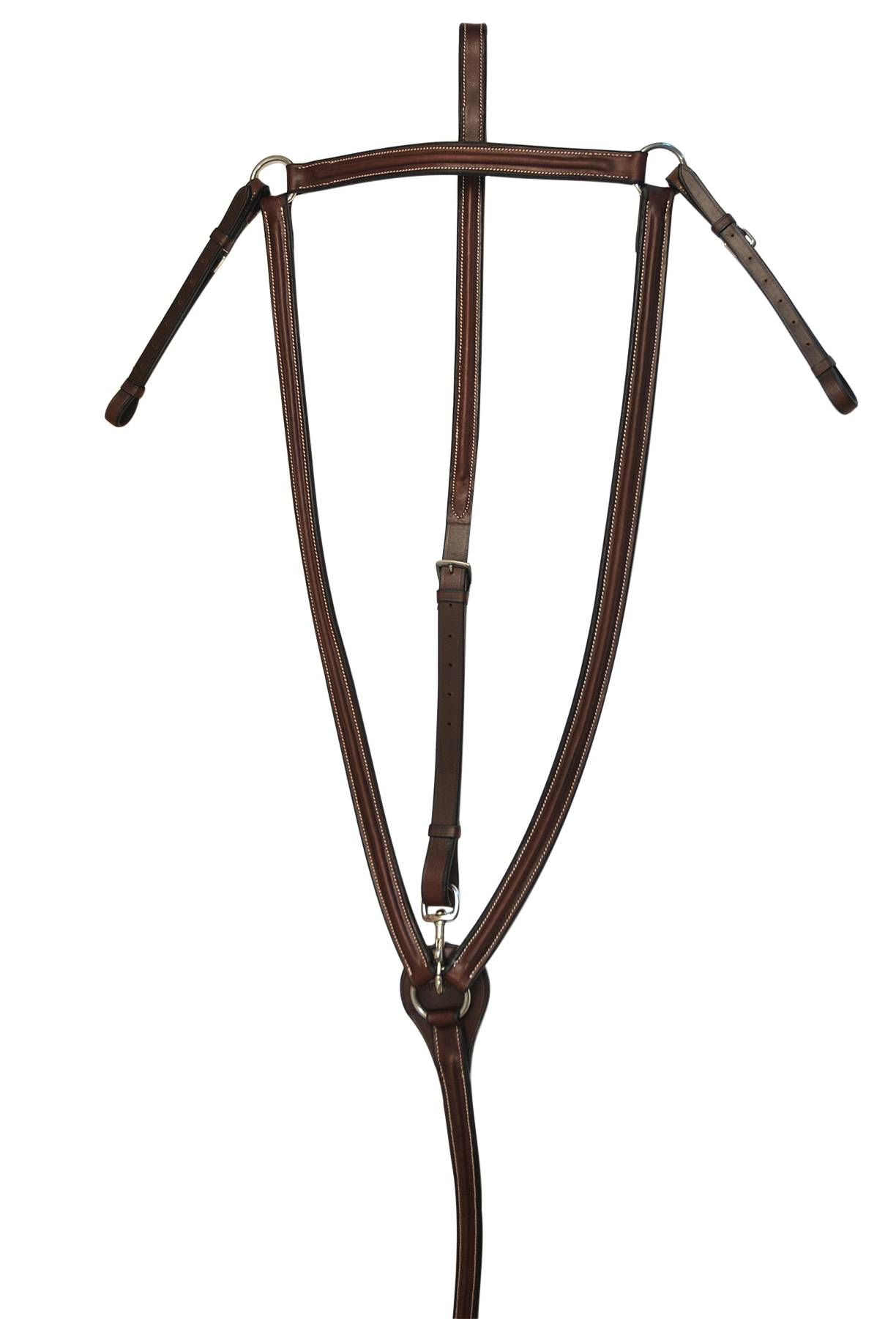 Treadstone Richtan Plus Raised Breastplate with Standing Attachment