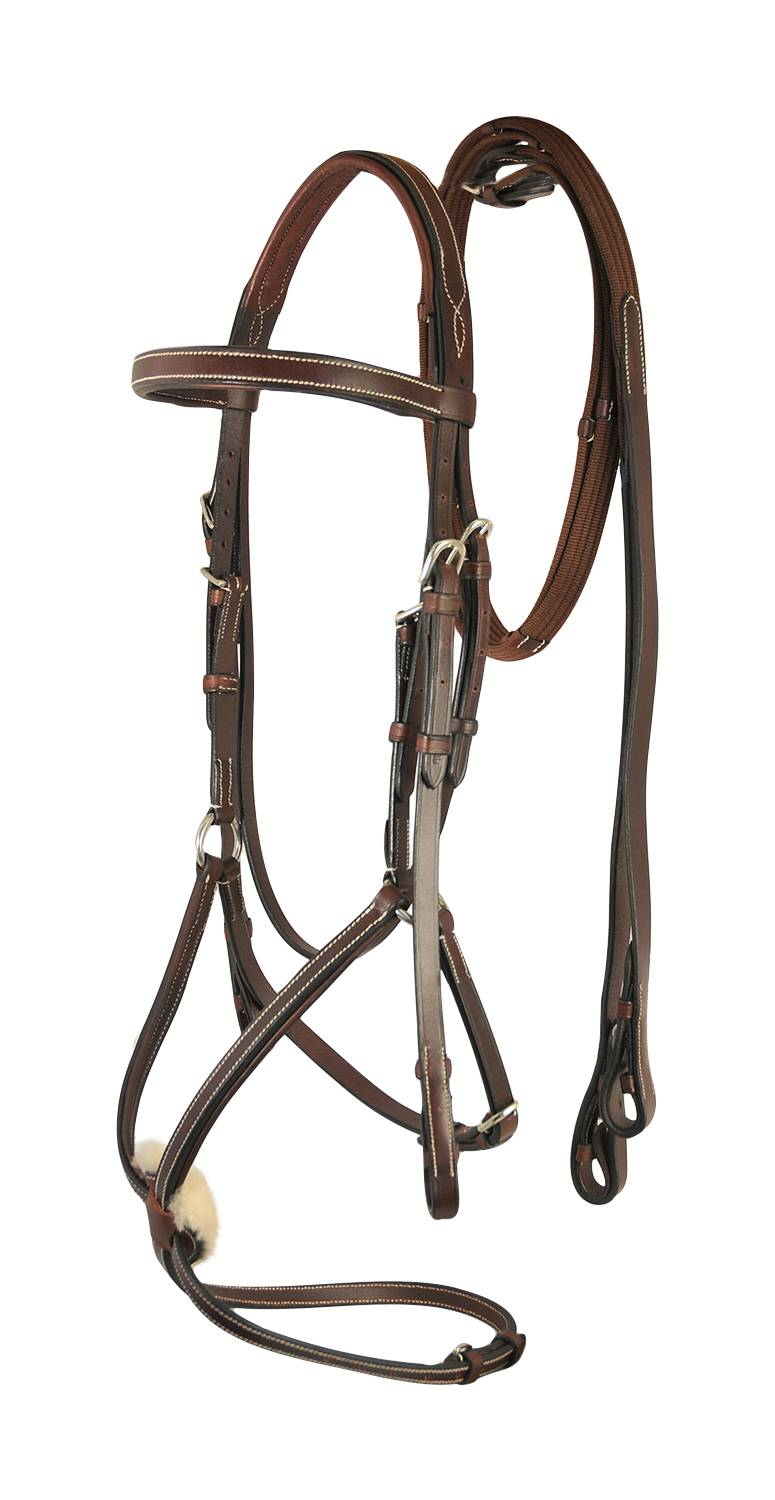 Treadstone Richtan Plus Figure 8 Bridle with Web Reins