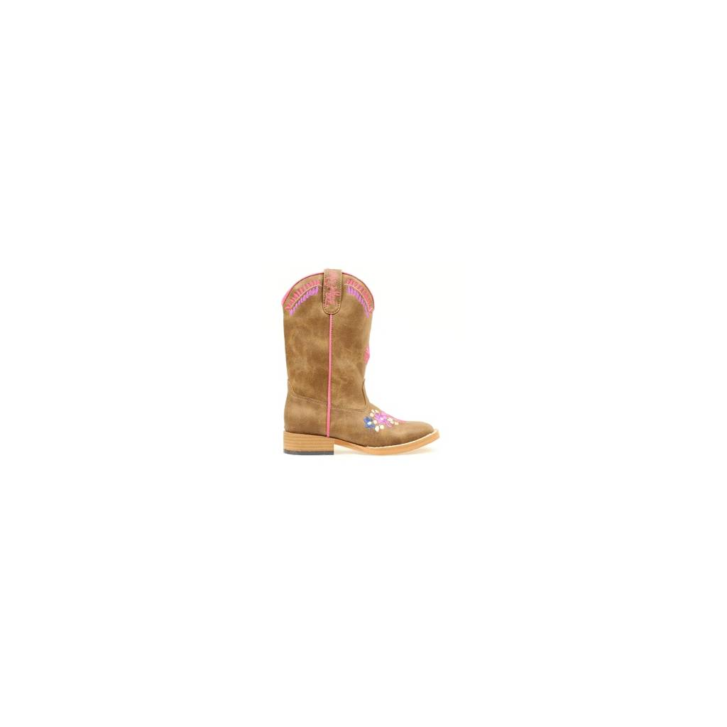 Blazin Roxx Kids Sashay Floral Embroidered Western Boot