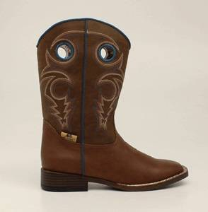 DBL Barrel Kids Dylan Western Boot