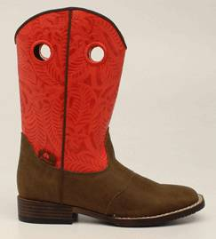 DBL Barrel Youth Sam Western Boot
