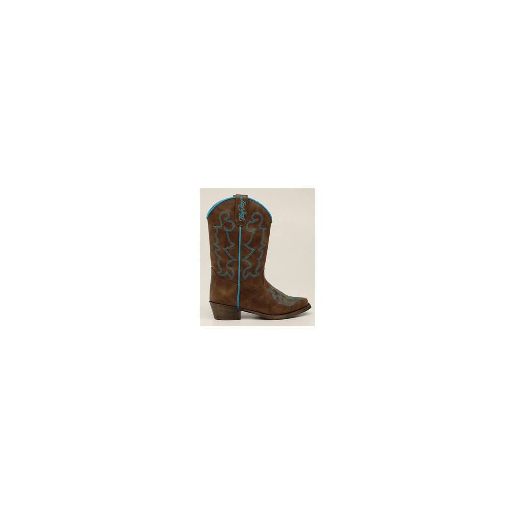 Blazin Roxx Youth Caroline Snip Toe Western Boot