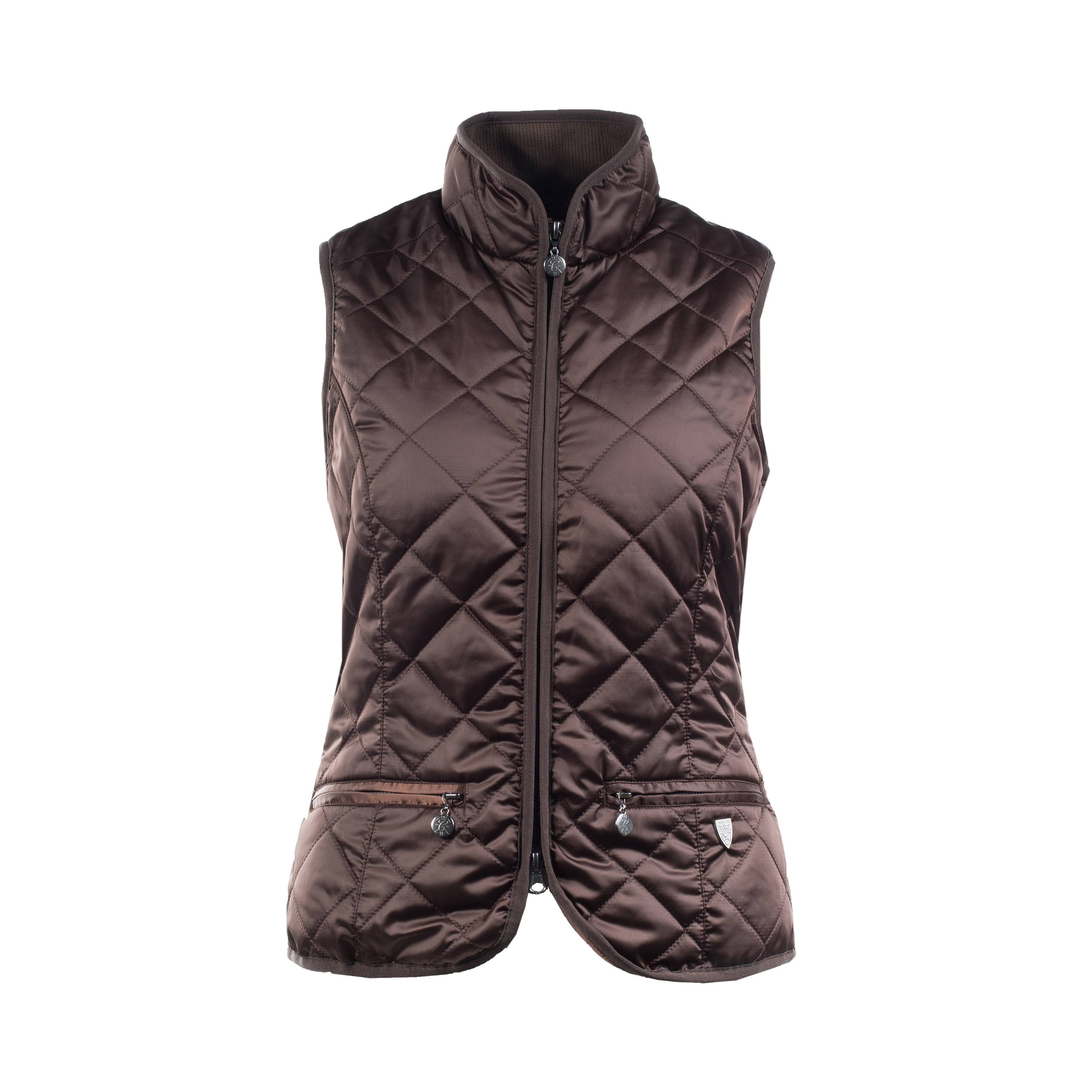HorZe Crescendo Eleanor Womens Classic Quilted Vest