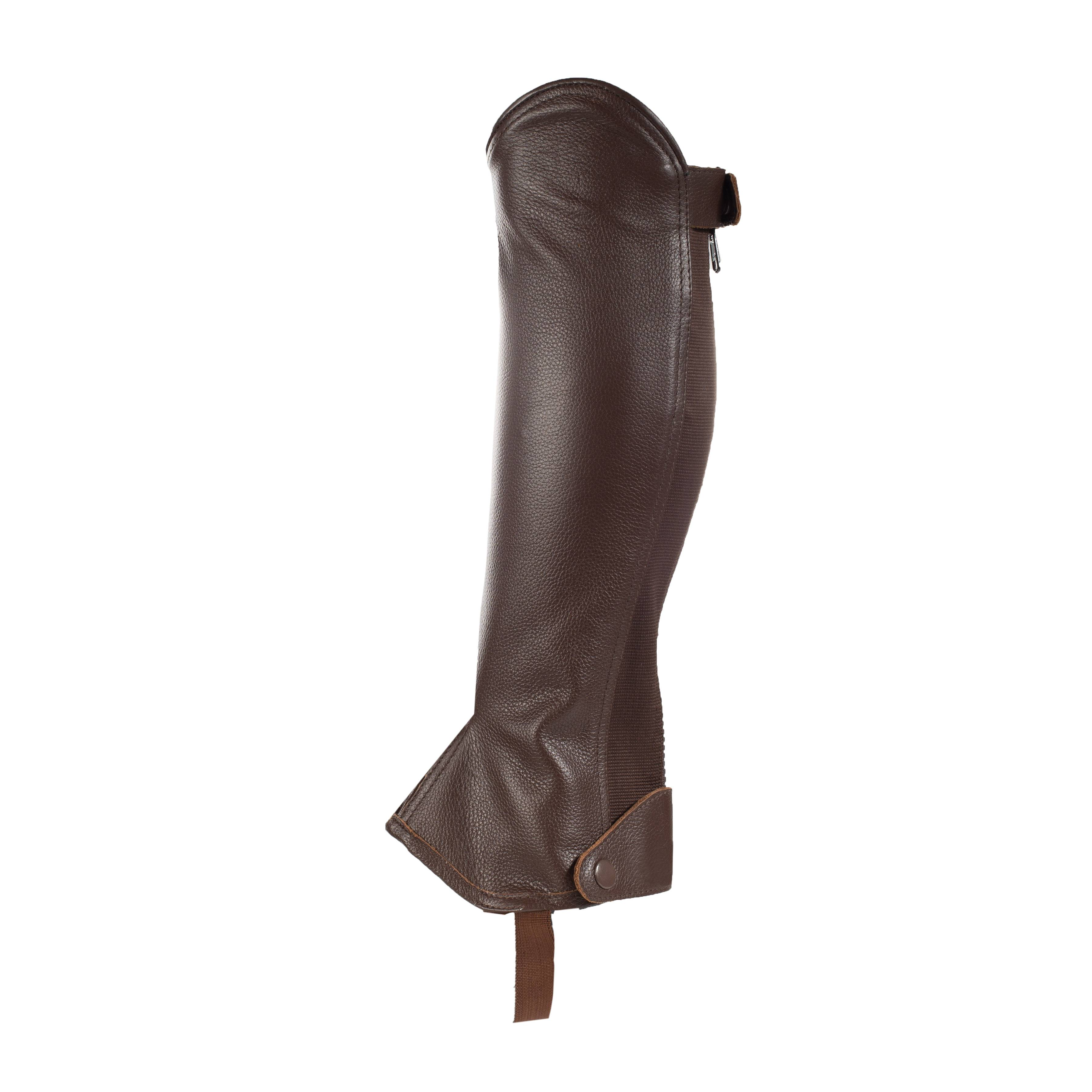 HorZe Spirit Leather Half Chaps