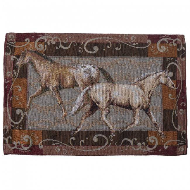 Tough-1 Running Horses Placemat Set