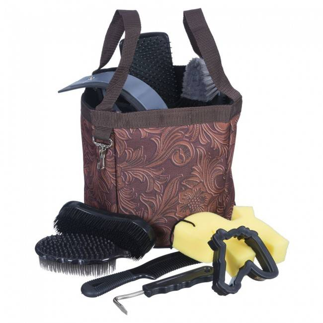 Tough-1 10 Piece Grooming Kit In Fun Prints