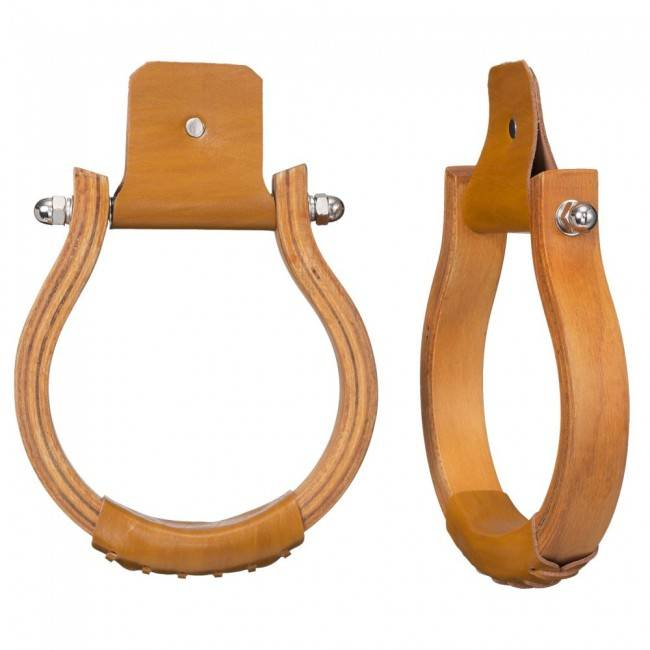 Tough-1 Laminated Wood Oxbow Stirrups