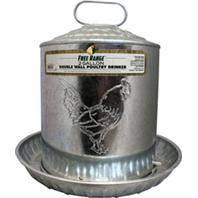 Galvanized Double Wall Drinker