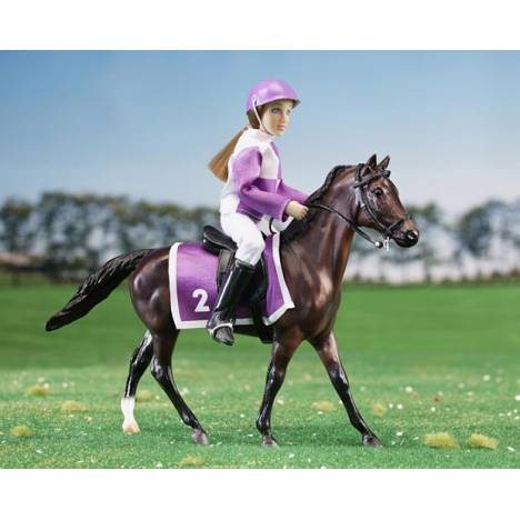 Breyer Classics Race Horse & Jockey