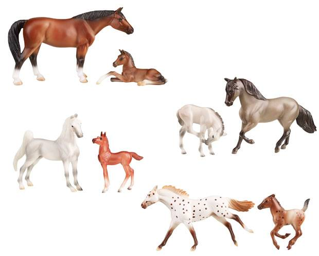 Breyer Stablemates Horse & Foal - 2 Pc Assorted