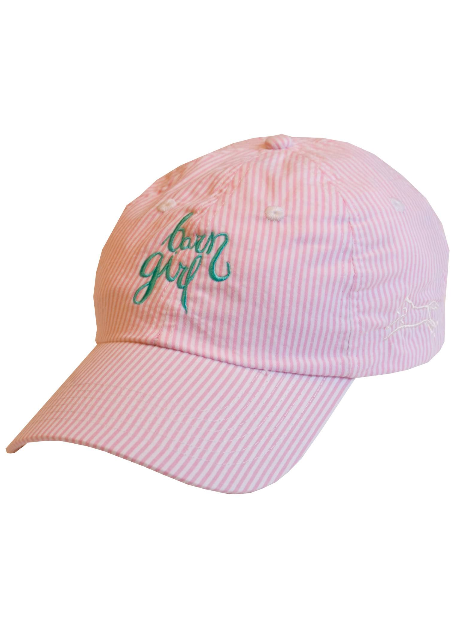 Stirrups Ladies Barn Girl Embroidered Cotton Twill Adj. Cap