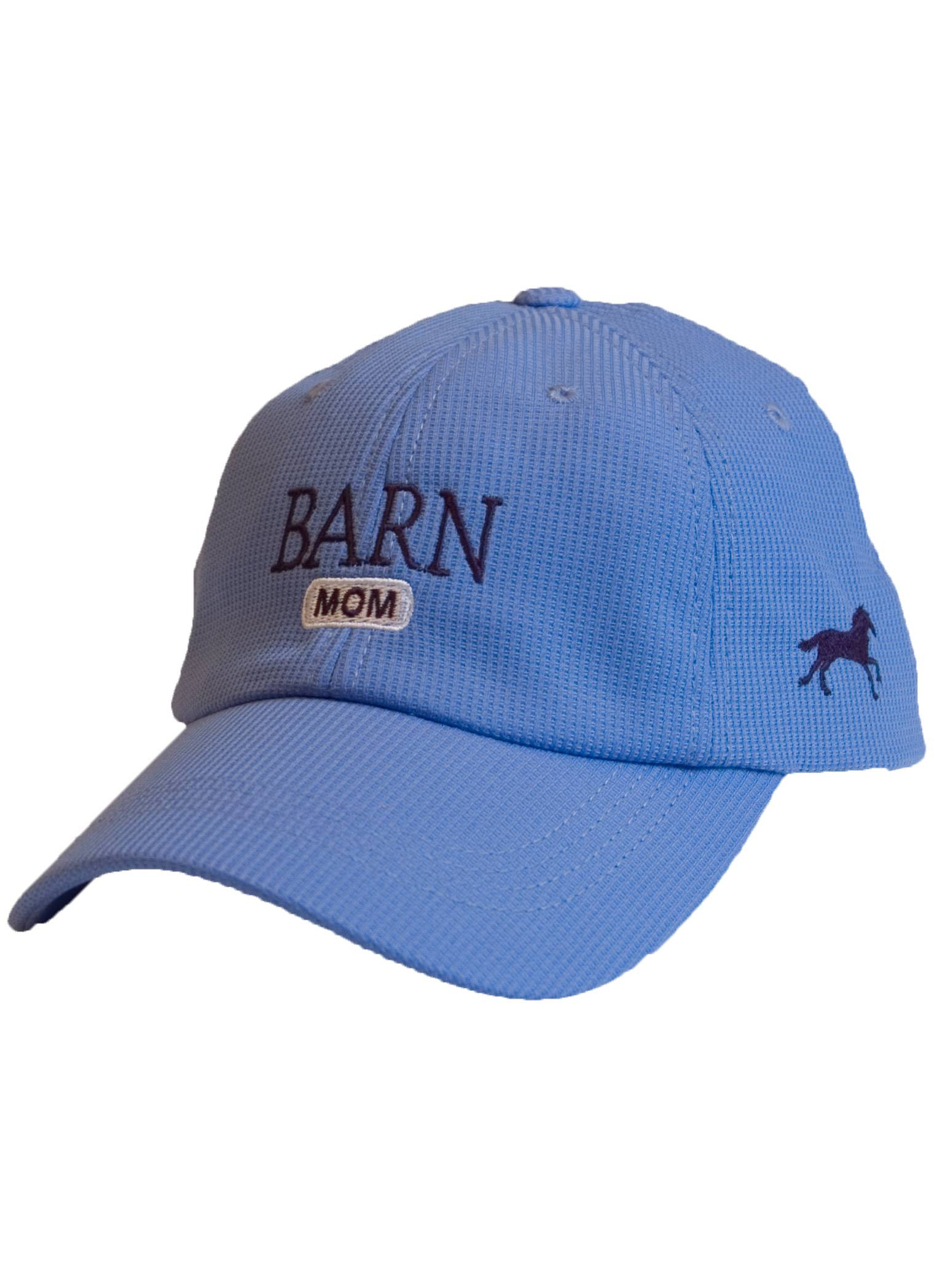 Stirrups Ladies Barn Mom Embroidered Wicking Adj. Cap