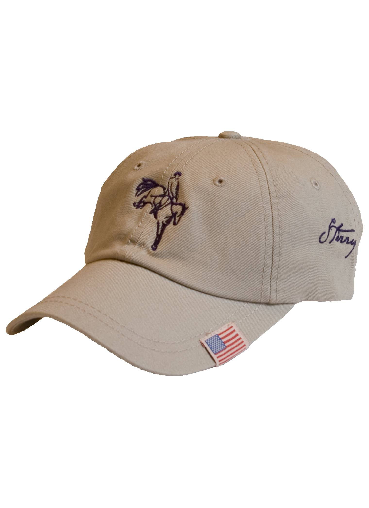 Stirrups Ladies Eventing Jumping Horse Cotton Twill Adj. Cap