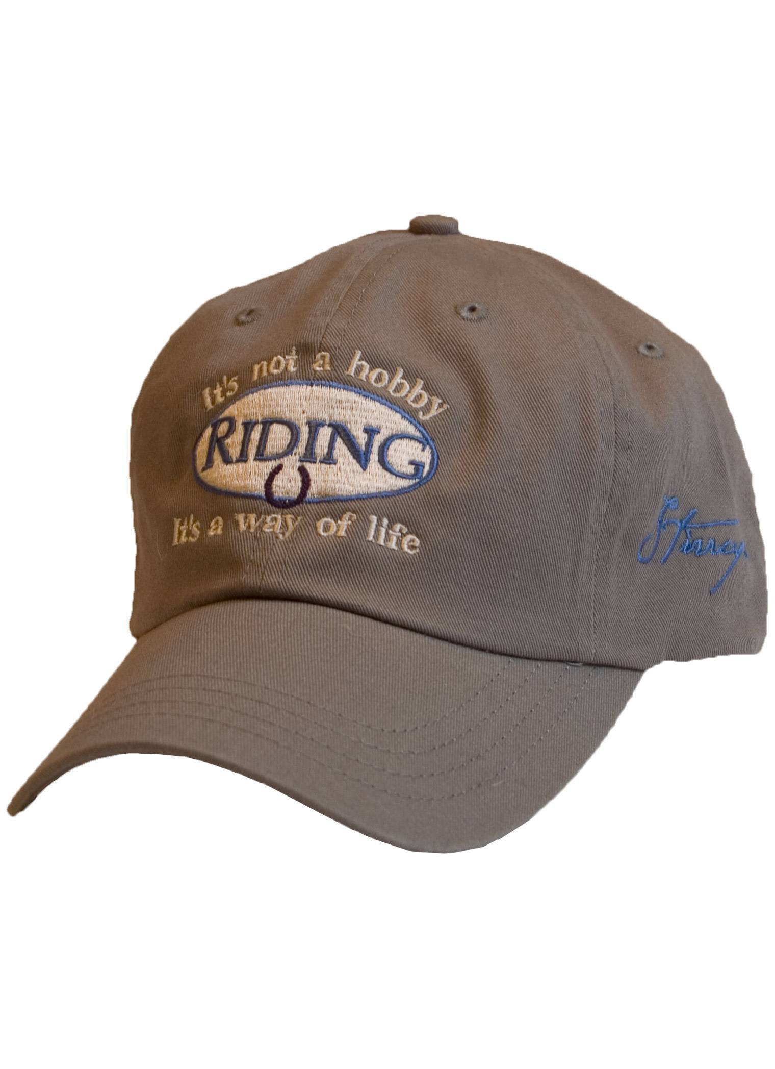 Stirrups Ladies Riding Is Not A Hobby Cotton Twill Adj. Cap