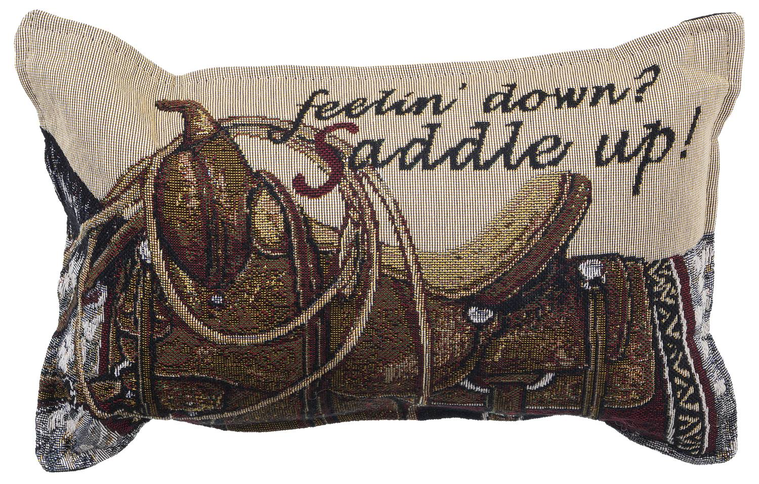 Gift Corral Feeling Down Throw Pillow